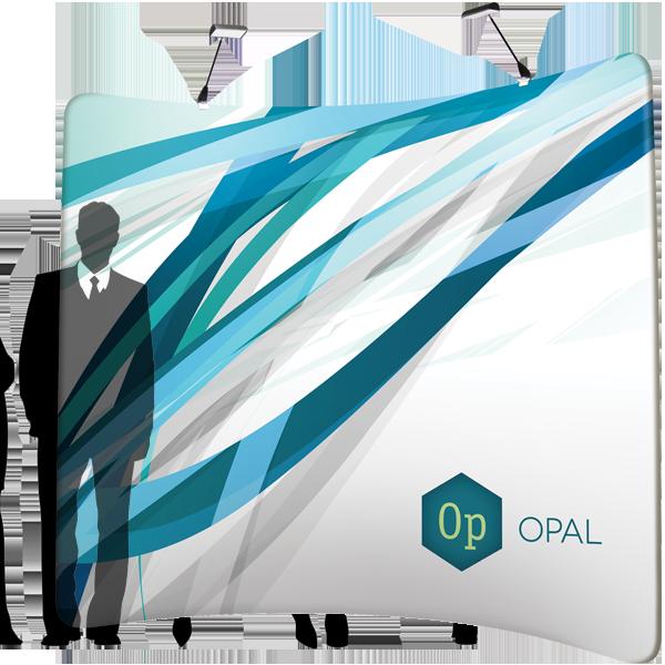 OPAL - Stretch Fabric Display