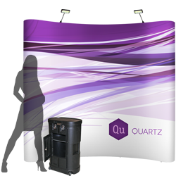 QUARTZ - Pop Up Booth