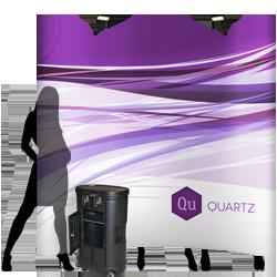 QUARTZ - Pop Up Booth